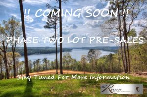 Coming Soon – Phase Two Lot Pre-Sales