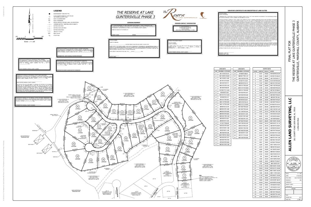 18-12 The Reserve at Lake Guntersville Phase 3 Plat-24x36-page-001