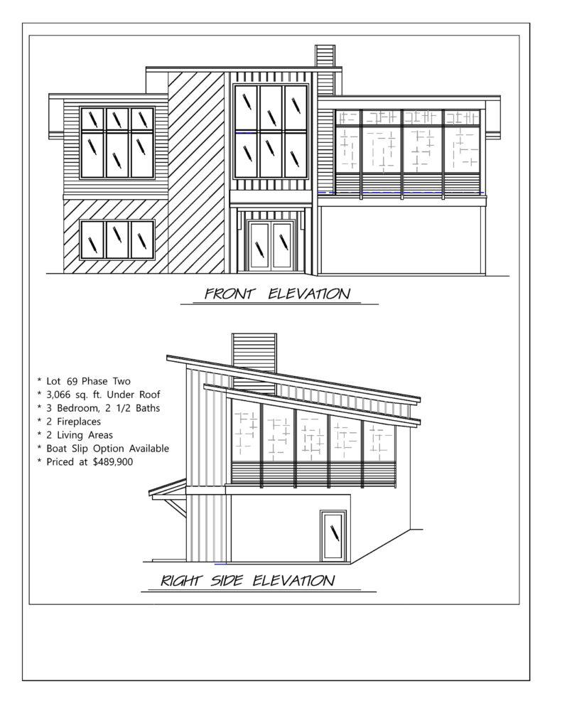 THE RESERVE lot 69 spec elevation no logo