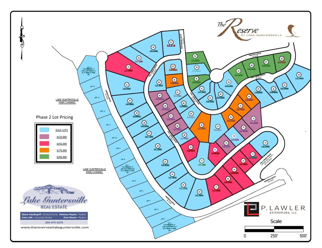 phase 2 lots for sale 01262021