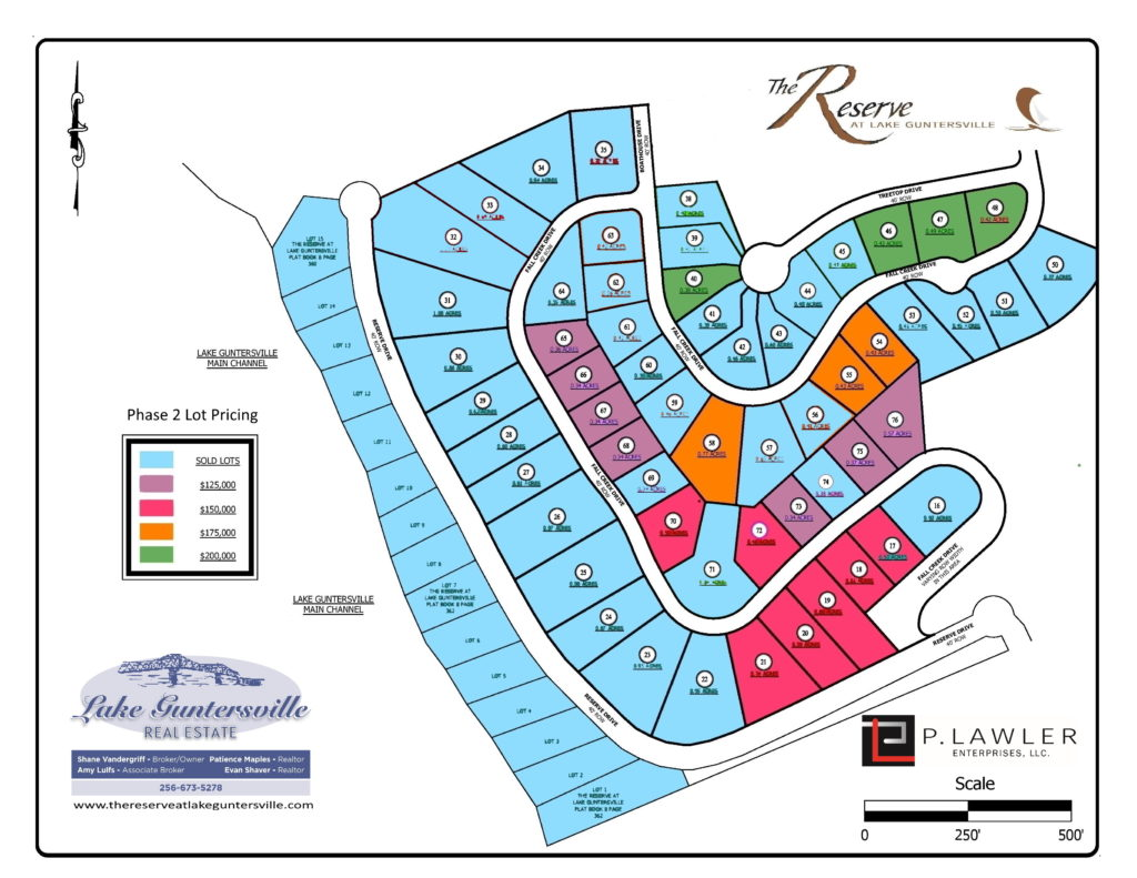 phase 2 lots for sale 06132021